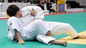 全日本体重別柔道 19歳阿部(男子66キロ級)連覇