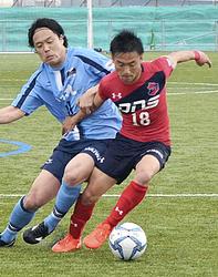 いわきFC準決勝へ サッカー天皇杯福島県予選