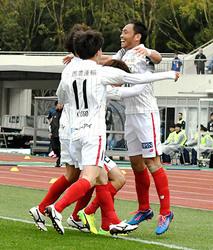 J2岐阜、待望の1勝 町田を1-0