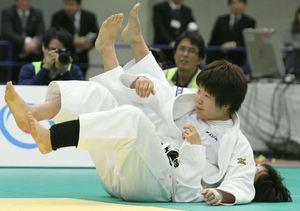 梅木初の頂点、女子78キロ級 全日本体重別柔道