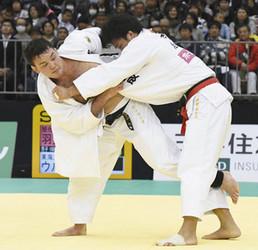 ウルフ・アロンが連覇で世界切符 柔道全日本体重別