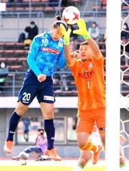 J2讃岐今季初勝利 首位湘南に3―0