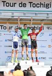 自転車ブリッツェン鈴木、意地の3位 ツール・ド・とちぎ
