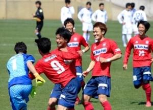 バンディオンセPK戦勝利 サッカー天皇杯兵庫県予選
