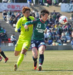 若手攻撃陣が結果 J3鳥取、J1広島と親善試合
