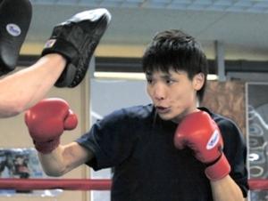 ボクシング WBA世界戦 挑戦者久保が練習公開