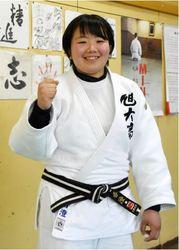 柔道 旭大進学の小椋さん、初の全日本 攻めの柔道で