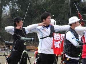 アーチェリー 菊地が4位キープ 世界選手権代表選考会