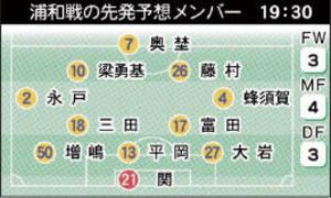 J1仙台 7日にアウェー浦和戦