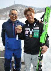 札幌市の田川さん大回転V2 知的障害者スキー世界選手権 「健常者の大会でも上位狙う」