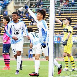 カターレ快勝、天皇杯へ 富山新庄クに5-0