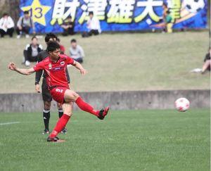 JFLヴェルスパ大分が県代表 天皇杯サッカー