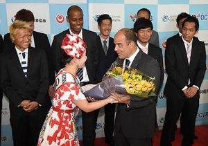 W杯強化合宿で沖縄入り ビーチサッカー日本代表