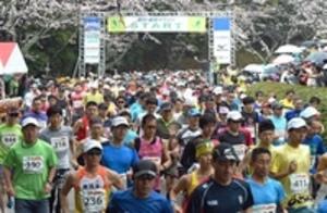 雨の掛川路6700人力走 新茶マラソン開催危機乗り越え