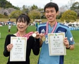 掛川・新茶マラソン 上田と宮、10キロ初優勝