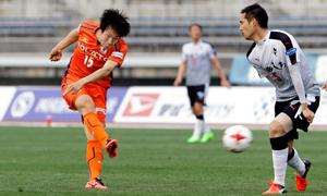 愛媛FC、1-0で熊本を零封