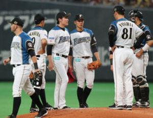 日本ハム 2014年8月以来の6連敗