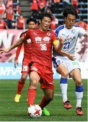 J2熊本 FW巻「勝利分かち合う」 16日復興支援マッチ