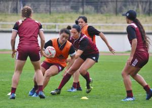 五輪ラグビー銀、女子NZ代表が厚木合宿 五輪事前誘致で