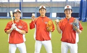 即戦力3人加入 社会人野球・宮崎梅田学園