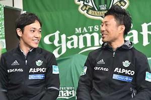 サッカーで熊本に笑顔を J2松本アンバサダー鉄戸裕史さん
