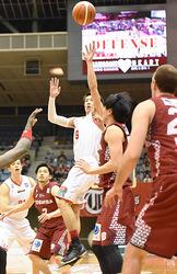 富山完敗、川崎に63-78 バスケBリーグ1部