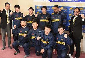 トップリーグ昇格へスクラム ラグビー釜石SW新戦力が抱負