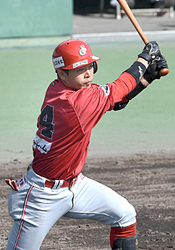 BCリーグ信濃、七回柴田が勝ち越し右前打