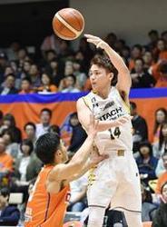 バスケB1北海道、63―57で首位栃木に今季初勝利