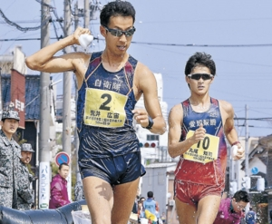 荒井2年ぶりV、リオ銅の底力 全日本競歩輪島