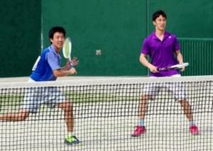宮下、花田組、挑戦者の心意気 ソフトテニス兵庫県春季大会
