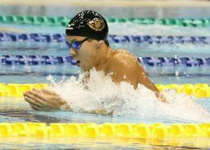 渡辺2位、2百平世界切符 競泳日本選手権
