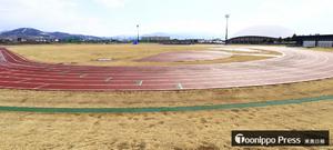 陸上競技場と平賀多目的広場が完成 平川市