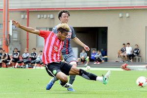 J1浦和 流通経大と練習試合 オナイウが2得点