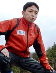 陸上 山形県縦断駅伝~挑む40代選手 高岡さん(米沢)