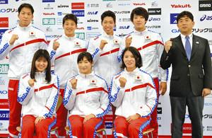 水泳 世界選手権代表に池江ら18人 課題露呈の小編成