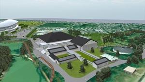 栃木県総合スポーツゾーン整備 新武道館は計45億円で落札