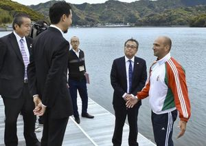 高知県土佐町、本山町、須崎市首長「カヌーで連携し振興」