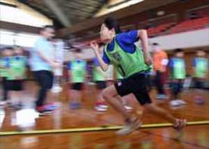 2022栃木国体へ育成始動 小中学生の運動能力測定