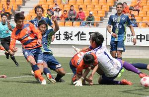 サッカー天皇杯 J3長野、2回戦に進出