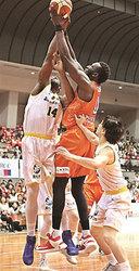 香川粘り及ばず、広島に81―89 バスケBリーグ2部