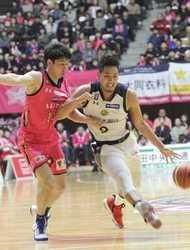 バスケB1栃木、秋田に勝利85-76 地区Vへ前進