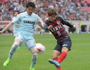 J1鹿島、3失点で大敗 磐田に0-3