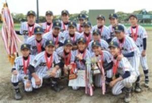 翔洋中2年ぶりV 全日本少年軟式野球・静岡県大会