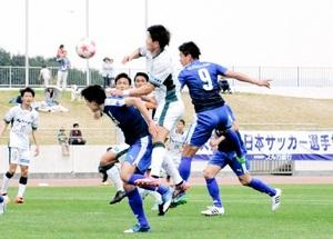 サウルコス敗戦はFKの差 天皇杯サッカー、J3沼津戦