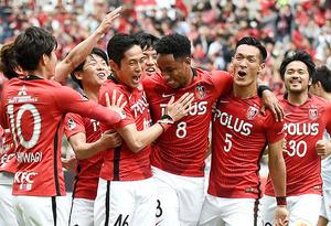 J1浦和、4連勝で首位キープ 3―2で札幌下す