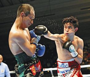 ボクシング・井岡、貫禄の5度目防衛 具志堅に並ぶ14勝