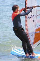 5月のウインドサーフィンW杯出場 須長由季さん(36歳)