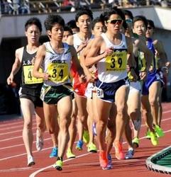 兵庫リレーカーニバル 男子1万、上野が4位