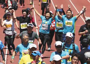 輝く笑顔、全員が主役 ぎふ清流ハーフマラソン